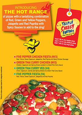 Buy Smokin' Joe's Pizza, Online Fresh Pizzas Home Delivery India
